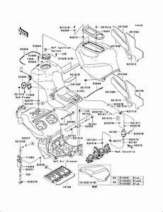 Powersports Kawasaki - Zx1200  Ninja Zx12r  2004