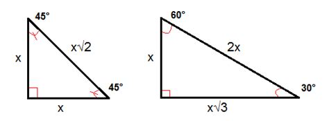 The Converse Of The Pythagorean Theorem And Special Triangles (geometry, Right Triangles And