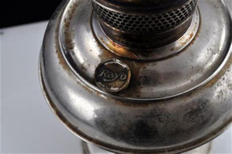 antique 1905 standard oil rayo center draft oil l w