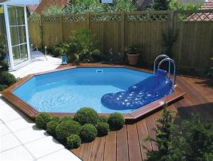 piscine bois 5 With attractive prix liner piscine hors sol octogonale 6 piscine bois octogonale semi enterree