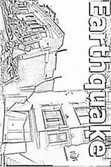 Earthquake Coloring Colorear Para Terremoto Dibujo Terremotos Imagenes Today Results Dibujosa sketch template
