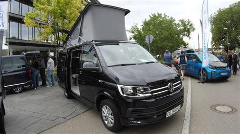 volkswagen t6 california vw t6 california multivan cer walkaround interior model 2017 black colour