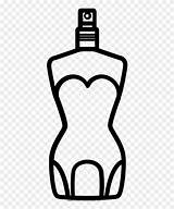 Perfume Coloring Clipart Colorir Colorare Desenho Profumo Disegni Pinclipart Imprimir sketch template
