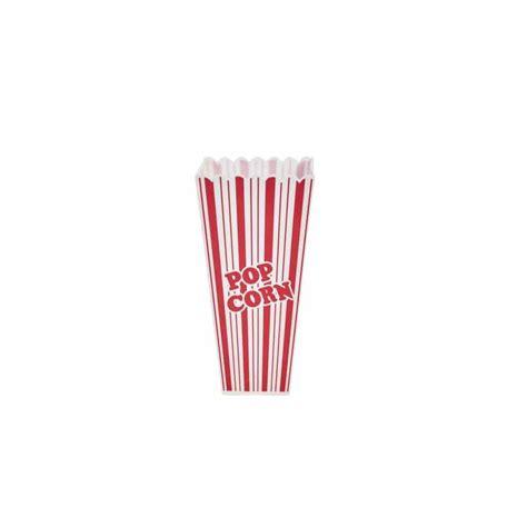 bicchieri pop corn contenitore pop corn america in plastica bianco e rosso lt