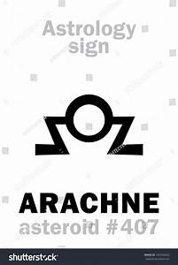 Astrology Alphabet Arachne Asteroid 407 hieroglyphics ...