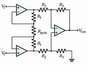 What Is A Circuit Diagram Of An Instrumentation Amplifier