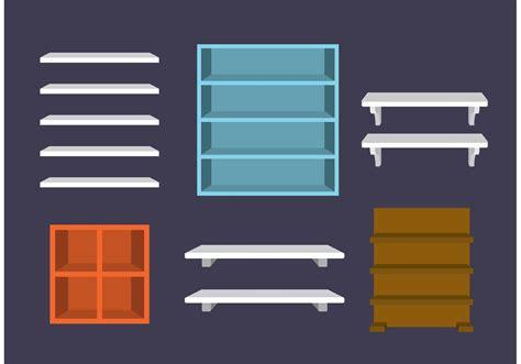 shelves vectors   vectors clipart