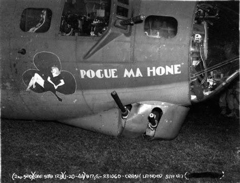wars möbel pogue ma hone b 17 nose nose airplane