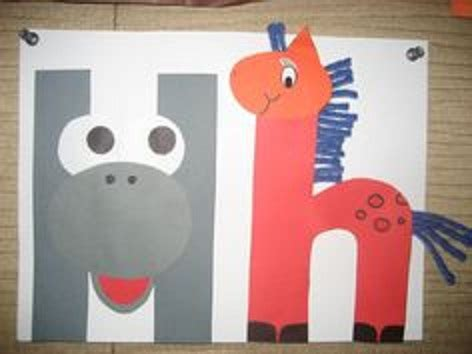 letter h crafts ideas preschool and kindergarten 930 | letter h craft homework