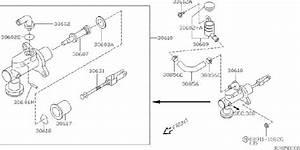Nissan Sentra Clutch Master Cylinder