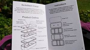 Function101 Bentostack Charge 5000 Mah Qi Wireless