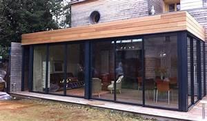 veranda design ronde montpellier vente agrandir verandas With awesome maison toit en verre 2 idee agrandissement maison 50 extensions esthetiques