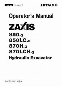 Hitachi Zx850