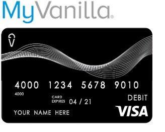It offers benefits with my vanilla or mio. Www.MyVanillaDebitCard.com - Reloadable Vanilla Visa Debit Card
