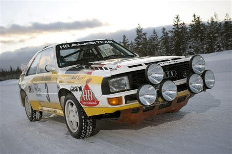 1984 Audi Sport Quattro S1 Quick Spin Photo Gallery