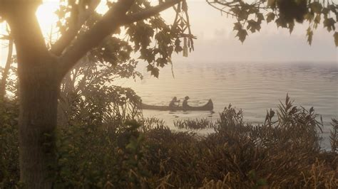 Canoes Red Dead 2 red dead redemption 2 characters release date and map