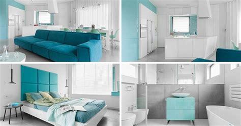 palette de couleurs bleu blanc gris