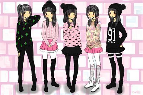 Fav Winter Outfits by NYANiXXX on DeviantArt