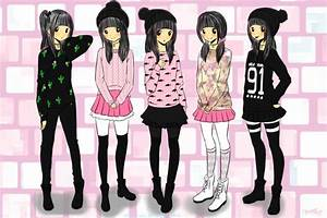 Cool anime girl, Girl outfits and Outfit on Pinterest