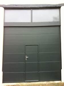 porte de garage sectionnelle motorisee pas chere With porte de garage sectionnelle motorisée hormann