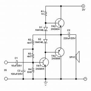 ubitxr4 audio distortion fix With 2n3906 2n3904 transistor q1 of the headset amplifier circuit amplifies