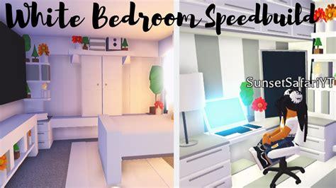 building  dream bedroom white bedroom speedbuild