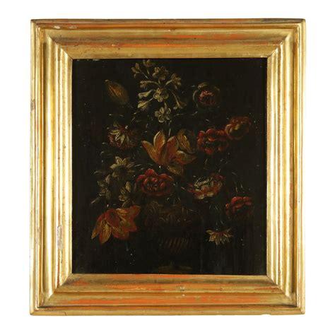 fiori vaso natura morta con vaso di fiori pittura antica arte