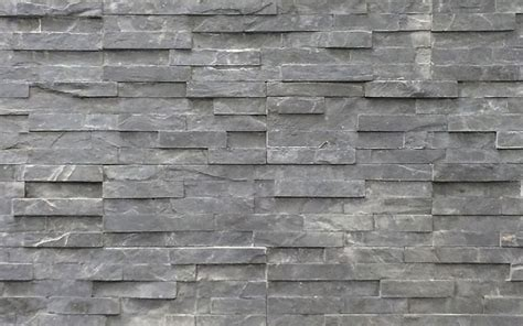 Black Stone Cladding - Outhaus