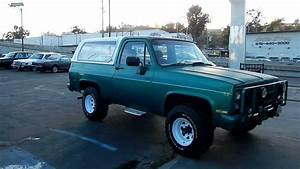 1986 Chevrolet K5 Blazer M1009 Military Cucv Chevy 4x4