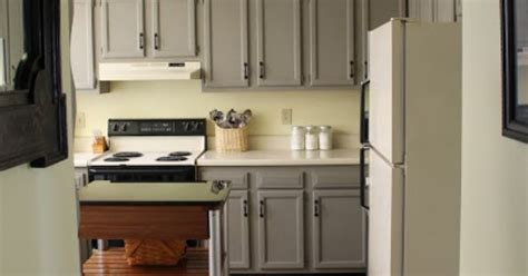 Wall color: Soft Sunlight by Valspar Cabinet color: French