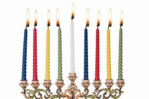 """Extra Tall 7 3/4"""" Multi Color Hanukkah Candles / 44 ..."""