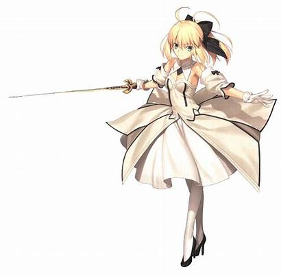 Fate Saber Stay Night Transparent Artoria Pendragon