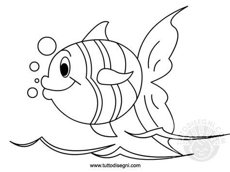 pesci da colorare per bambini scuola infanzia disegno pesce tuttodisegni