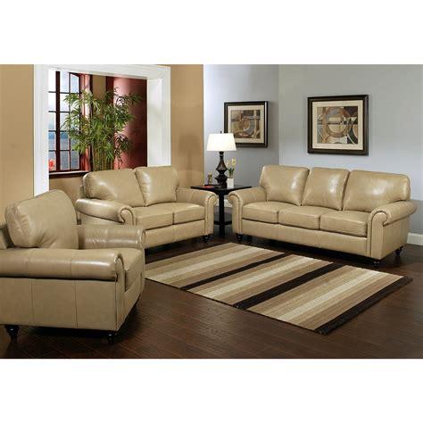 Leather Livingroom Sets by Top Grain Leather Living Room Set