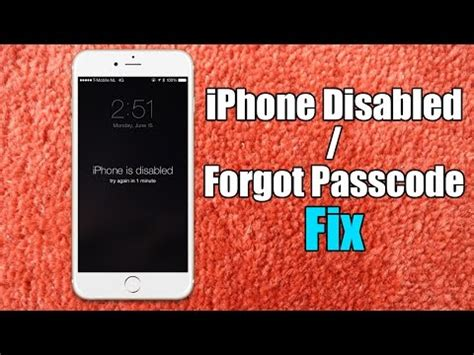 iphone 5s disabled how to bypass iphone disabled screen without restore 3437