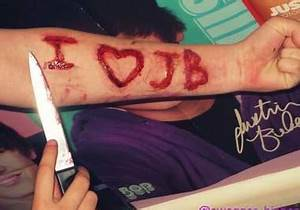 cut your Band or Groups Name into my arm using FX Makeup ...