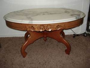victorian coffee table ebay With antique victorian marble top coffee table