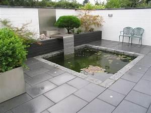 Wasserspiel Für Terrasse : gartengestaltung sch n und pflegeleicht in d sseldorf ~ Michelbontemps.com Haus und Dekorationen