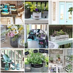 12, Gorgeous, Country, Farmhouse, Outdoor, D, U00e9cor, Ideas