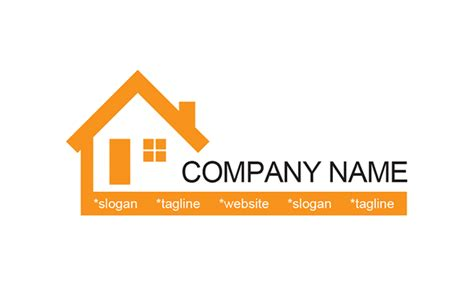 Home Design Companies by Free House Logo Template Property Management Slogan