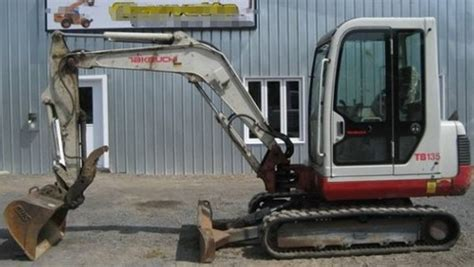 takeuchi tb compact excavator parts manual  sn    tradebit