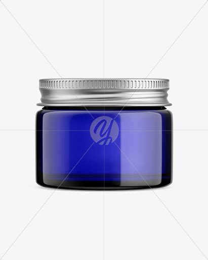 Download the best realistic free cosmetic jar mockup psd template for your next branding & promotion project. Metallic Cosmetic Jar Mockup Front View