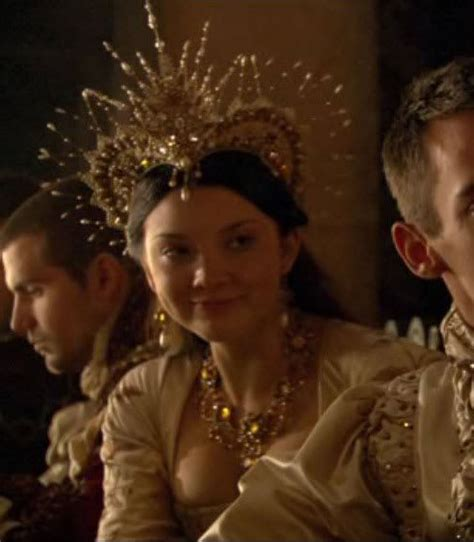 natalie dormer and tv shows not accurate but still a beautiful crown tudors tv