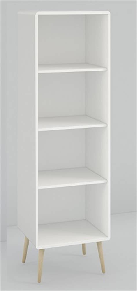 Sturdy Bookcase by Softline White Sturdy Bedroom Office Furniture Narrow