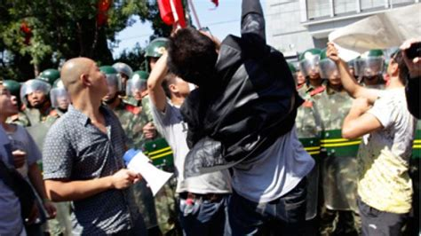 Chinese Protesters Attack Japanese Embassy In Beijing Over