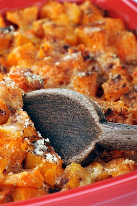 cuisine courge recette gratin de courge aux oignons