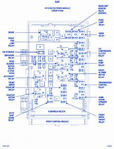 Dodge Caravan 2005 Power Module Fuse Box  Block Circuit Breaker Diagram
