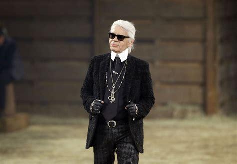 Fashion icon Karl Lagerfeld of Chanel dies in Paris ...