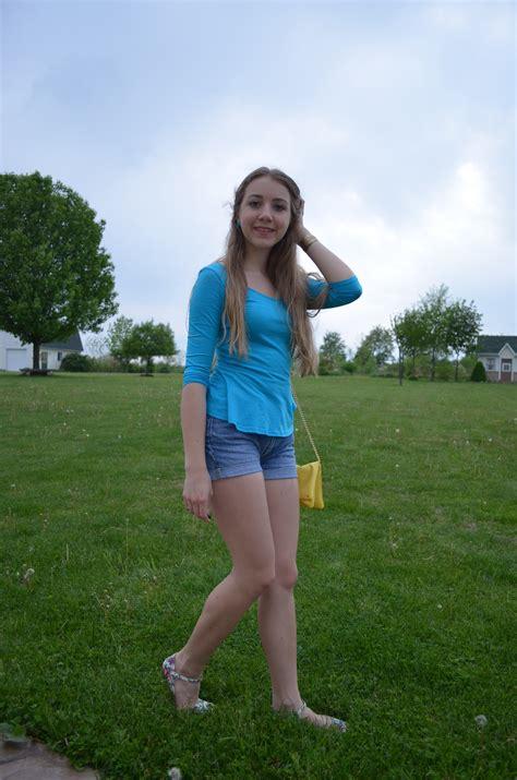 Girls Jean Short-Shorts