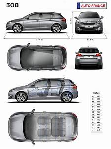 Dimensions 308 Peugeot : peugeot 308 information dimensions specifications ~ Medecine-chirurgie-esthetiques.com Avis de Voitures